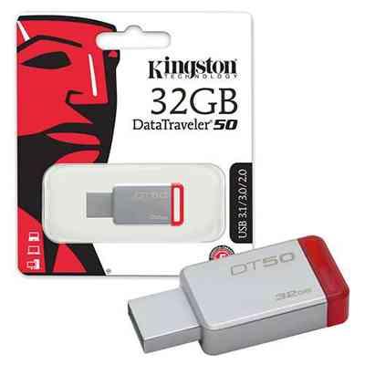 32GB Pen Drive USB 3.1 High Speed Metal Pendrives @ ido.lk