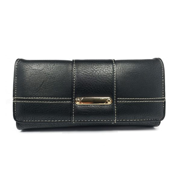 Black Wallet Women Purse Best price @ ido.lk