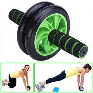 Braked AB Exercise Wheel Health & Beauty