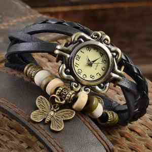 Women's Casual Vintage Wrist Watch Ladies@ido.lk