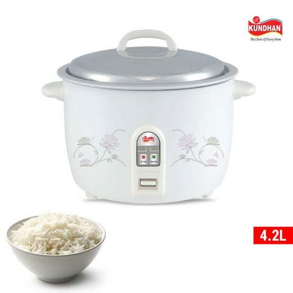 Kundhan Electric Rice Cooker 4.2L Best Price ido.lk