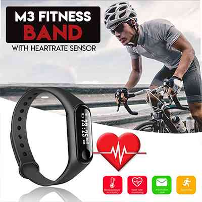 M3 Smart Fitness Band Health & Beauty