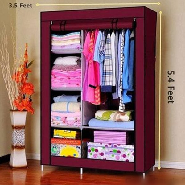 Multi-Functional Storage and Portable Wardrobe Best price @ ido.lk