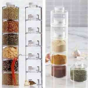 Spice Tower Carousel – 6 Pcs