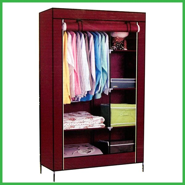 2 Door Multi-Functional Storage and Portable Wardrobe Home & Lifestyle
