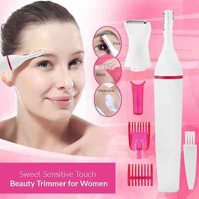 Sweet Sensitive Precision Women Eyebrow Bikini Trimmer Hair Remover Electronic Devices