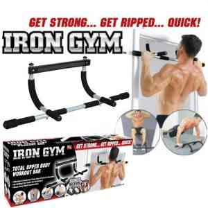Iron Gym Total Upper Body Workout Bar Health & Beauty