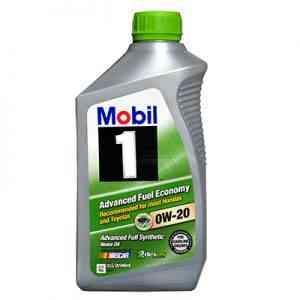 Mobil 1 0W-20 Auto Oils & Fluids