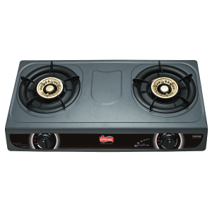 Dual Burner Gas Cooker Non-Stick