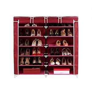 Double Side 10 Layers Shoe Rack