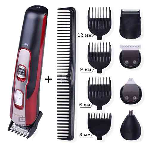 Gemei GM-592 10 In 1 Electric Multi-function Rechargeable Shaver And Trimmer Trimmers