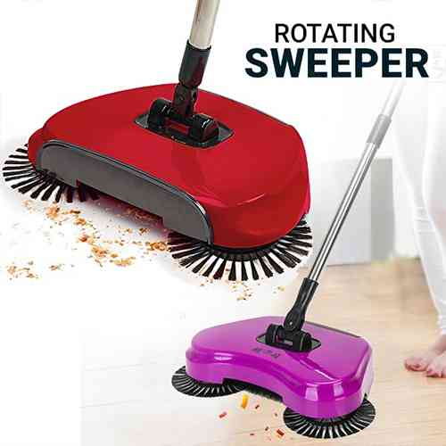Roto Sweep Drag 3 in 1 Garbage Swept Away