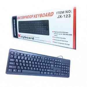 Waterproof Keyboard JX-123 Computer Accessories