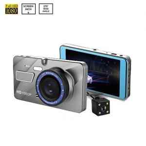 A10 Full HD 1080P Dual Lens Vehicle Black Box Car DVR
