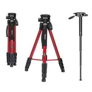 Jmary Professional Aluminium Tripod and Monopod for All DSLR Cameras Tripods