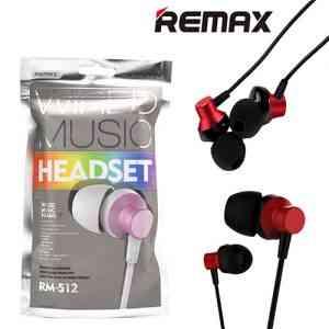 Remax In-Ear Wired Earphone Stereo Headset Headphones