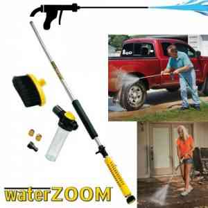 Water Zoom High Pressure Cleaning Tool Water Spray Gun