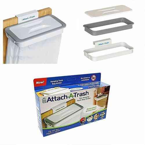 Attach-A-Trash Hanging Trash Bag Holder Kitchen & Dining