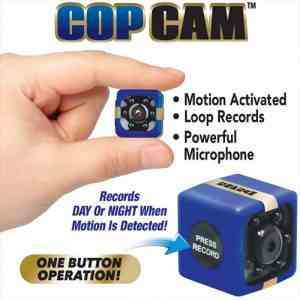 Motion-activated security camera records Security Camera