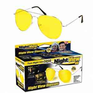 Night View NV Yellow Night Vision Sunglass Gadgets & Accesories