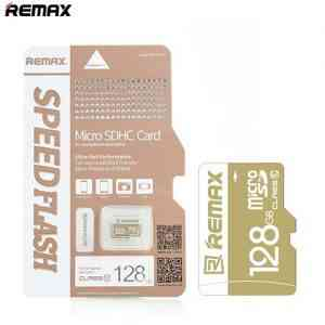 Remax Micro SDHC Memory Card 128 GB (Class 10 UHS – I Grade 1,)