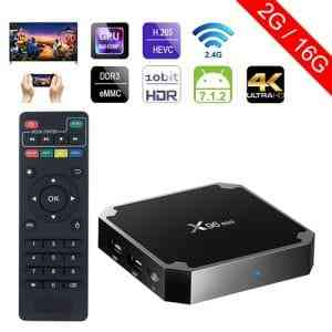 X96 Mini Android 7.1 4K TV BOX 2GB RAM 16GB ROM