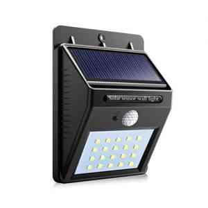20 LED Solar Power Night light Wall lamp