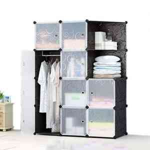 10 Door Portable Foldable Clothes Closet