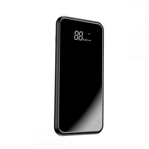 Baseus Full Screen Bracket Wireless Charge Qi Power Bank 8000mAh