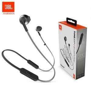 JBL TUNE 205BT – Wireless Earbud headphones – Black Earbuds and In-ear