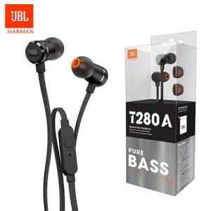 Original JBL T280A Stereo In-Ear Headphones