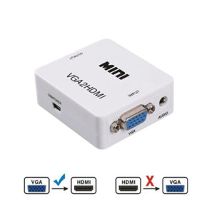 VGA to HDMI Converter Computer Accessories
