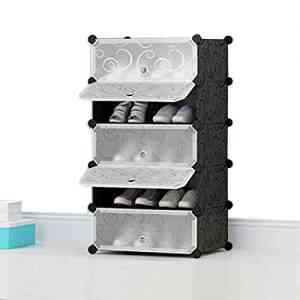 Plastic Shoe Rack- 5 Layers