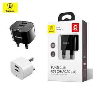 Baseus Funzi Dual USB Charger UK