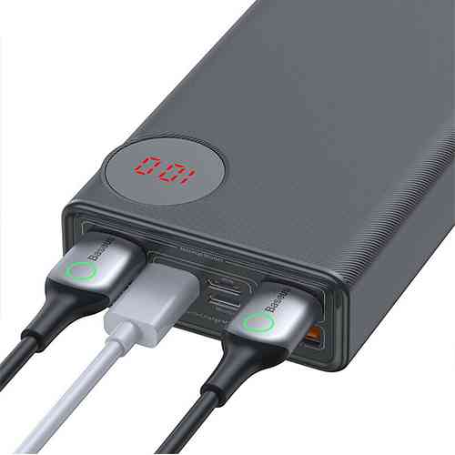 Baseus Mulight 30000mAh Power Bank Quick Charge 3.0