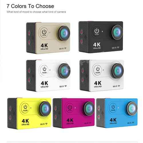Ultra HD 4K Action Camera