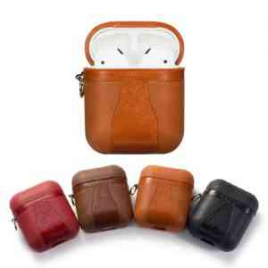 TPU Leather Airpods Cover Cases