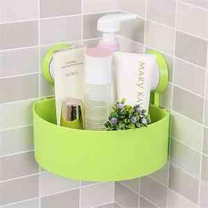 Triangle Bath and Kitchen Storage Shelf