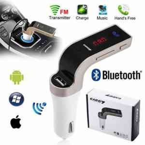 CAR G7 Bluetooth Car Charger FM/MP3 Player Car Care Accessories