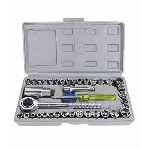 AIWA 40 Piece Combination Socket Wrench Set