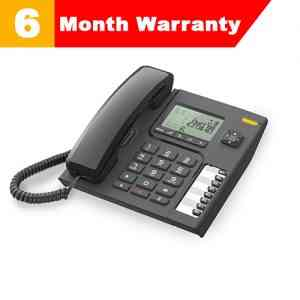 Alcatel T-76 Black Corded Landline Phone
