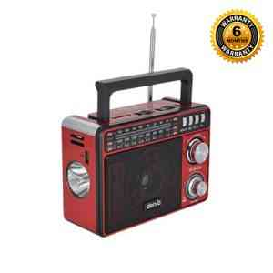 Den-b FM RadioMusic Player with LED Torch