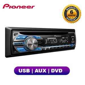 Pioneer Car Stereo DVD Player With USB & AUX DEH-4550UB Car Audio