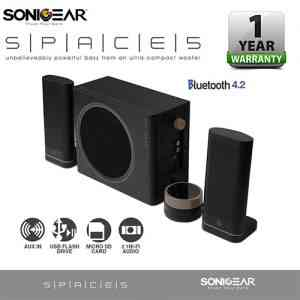 SONICGEAR SPACE 5 Bluetooth Hi-Fi 2.1 Speaker System