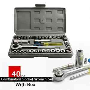 AIWA 40 Piece Combination Socket Wrench Set Gadgets & Accesories
