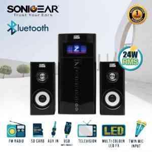 SonicGear EVO 7 Pro BTMI Bluetooth Speaker Subwoofers