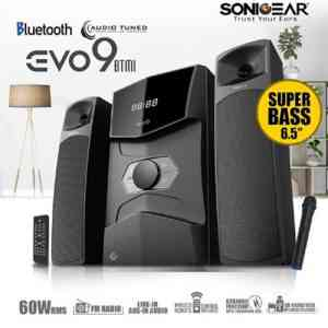 SonicGear Evo 9 BTMI Bluetooth Multimedia Speaker