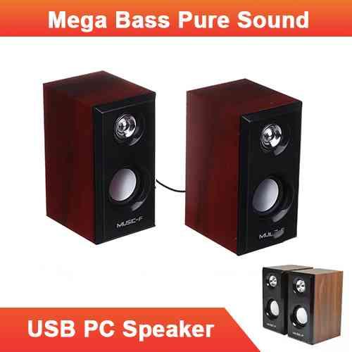 USB Speaker For Computer Laptop Music F D09