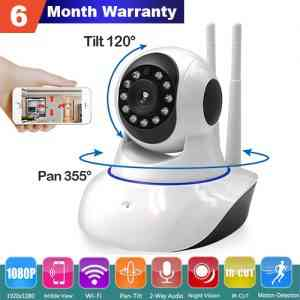 360° Panoramic View Wireless WiFi remote HD Camera