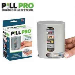 PILL PRO Pill Organizer Pill Box Home Needs